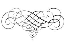 Prydnad i vektorer vektor illustrationer
