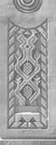 Prydnad på pelarna Royaltyfri Bild