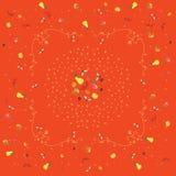 Prydnad som är baserad på frukter Arkivbilder