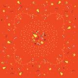 Prydnad som är baserad på frukter Arkivfoto