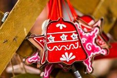 prydnadar för handbell för jul för bollaskfilial Arkivfoton
