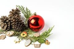 prydnadar för handbell för jul för bollaskfilial _ toys Santa Claus; Stearinljus; Gåvor; Arkivfoton