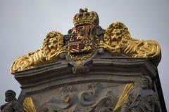 Prydnader överst huset Le Kornett Royaltyfria Foton