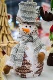 Prydnader för jul Arkivfoto