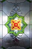 Prydnader på Trenggalek den stora moskén Arkivfoto