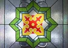 Prydnader på Trenggalek den stora moskén arkivbilder