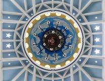Prydnader på Trenggalek den stora moskén royaltyfri foto
