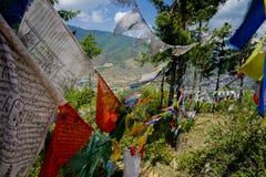 Free Pryer Flags In Bhutan Stock Photos - 102765063