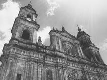 Prymasowska katedra Bogota, Rzymskokatolicka katedra lokalizować w Bogota Kolumbia fotografia stock