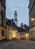 Pryssgrand gammal bundsförvant i Stockholm. Royaltyfri Fotografi