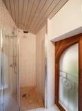 Prysznic gospodarstwo domowe łazienka obraz stock