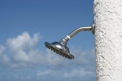 prysznic plażowa zdjęcia stock