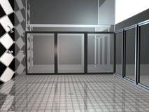 prysznic publicznej Obraz Stock