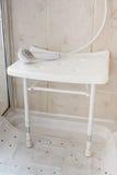 Prysznic siedzenie zdjęcie royalty free