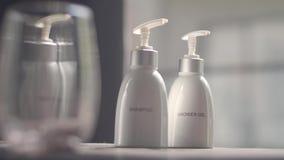 Prysznic szampon i gel zdjęcie wideo