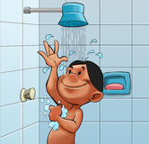 prysznic wp8lywy Obraz Royalty Free