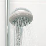 Prysznic z wodą bieżącą Fotografia Stock