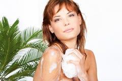 prysznic zabranie zdjęcie stock