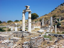 Prytaneion building in Ephesus,Turkey Stock Photo