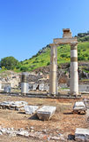The Prytaneion at Ephesus, Turkey Stock Photos