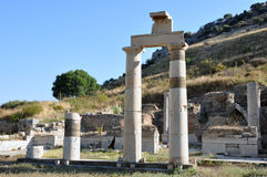 Prytaneion, Ephesus, Turkey Royalty Free Stock Photography