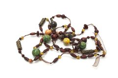prytt med pärlor halsband Royaltyfri Bild