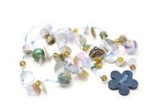 prytt med pärlor halsband Fotografering för Bildbyråer