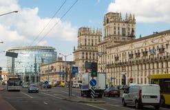 Pryvakzalnaja plosca,城市门  库存图片