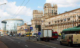 Pryvakzalnaja plosca, Gate of city Stock Images