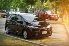Prywatnego samochodu, Honda Jazz lub Honda napadu fotografia, Obraz Royalty Free