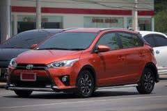 Prywatnego samochodu Toyota Yaris Eco samochód Zdjęcia Royalty Free