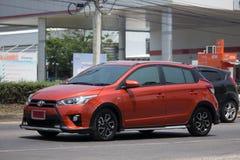 Prywatnego samochodu Toyota Yaris Eco samochód Obraz Royalty Free
