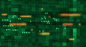 Prywatności bezpieczeństwa pojęcie obraz stock