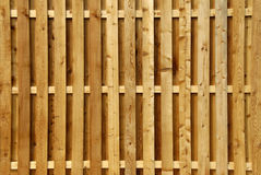 prywatności płotu drewna Fotografia Stock