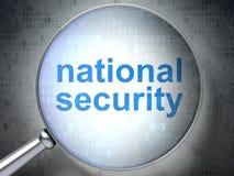 Prywatności pojęcie: Bezpieczeństwo Narodowe. z okulistycznym Obrazy Royalty Free