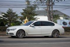 Prywatny Samochód Bmw serii 7 sedan Obraz Royalty Free