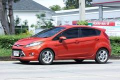 Prywatny samochód, Ford fiesta Obrazy Stock