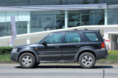 Prywatny samochód, Ford ucieczka, Suv samochód dla Miastowego użytkownika Zdjęcie Royalty Free