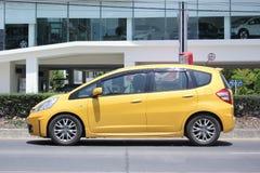 Prywatny samochód, Honda Jazz Zdjęcie Stock