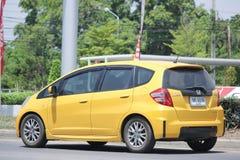 Prywatny samochód, Honda Jazz Fotografia Stock