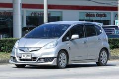 Prywatny samochód, Honda Jazz Zdjęcia Stock
