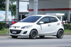 Prywatny samochód, Mazda 2 Obrazy Stock