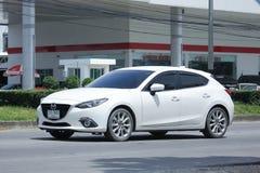 Prywatny samochód, Mazda 3 Fotografia Stock