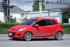 Prywatny samochód, Mazda 2 Obraz Stock
