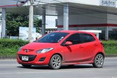 Prywatny samochód, Mazda 2 Zdjęcia Stock