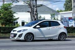 Prywatny samochód, Mazda 2 Obraz Royalty Free