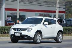 Prywatny samochód, Nissan Juke Fotografia Royalty Free