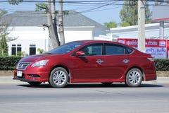 Prywatny samochód, Nissan Sylphy Zdjęcie Stock