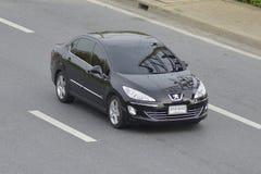 Prywatny samochód Peugeot obraz stock