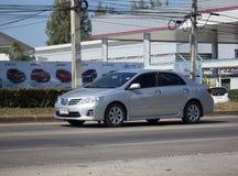 Prywatny samochód, Toyota Corolla Altis fotografia stock